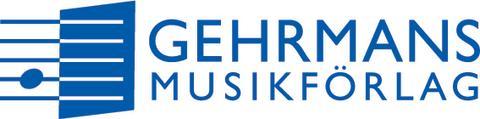 Gehrmans logo, blå, transparent EPS cmyk