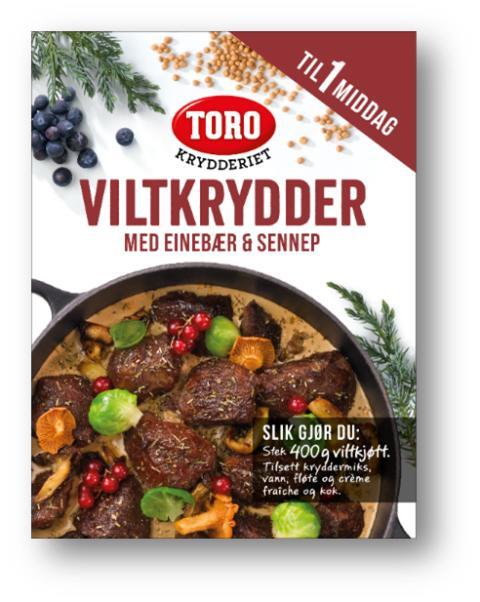 TORO Krydderiet kryddermiks til vilt
