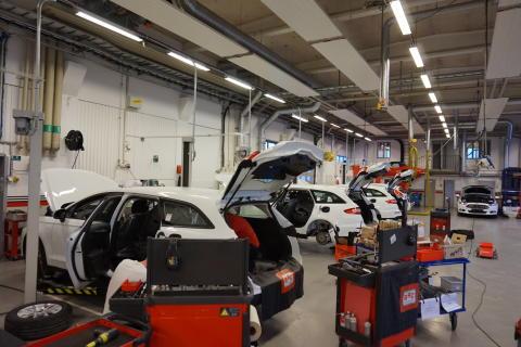 Fordbilar hos BRC Sweden