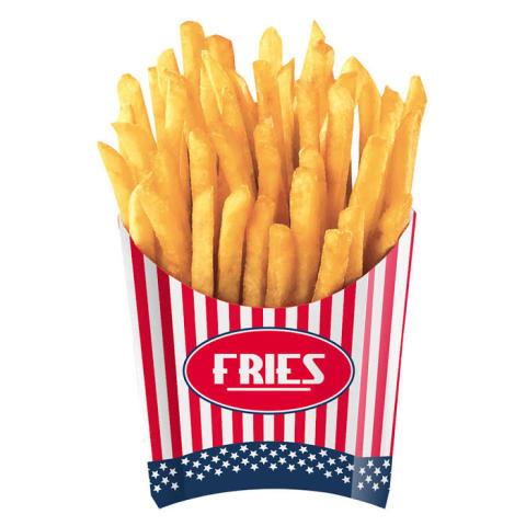 Pommes frites-bägare