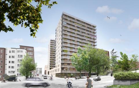 Einar Mattsson startar produktion av bostadsrättsprojekt med miljöprofil