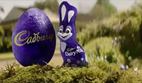 Cadbury is gearing up for Easter!