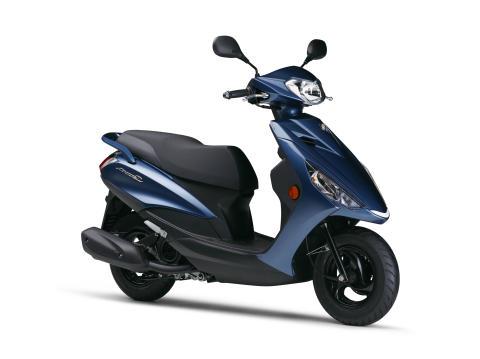 軽くて扱いやすい新型125ccスクーター「アクシス Z」を発売 ヤマハ125ccスクーターでトップの低燃費54.6km/L※1※3を実現