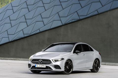 Kompakt luksus: Nye Mercedes-Benz A-Klasse sedan