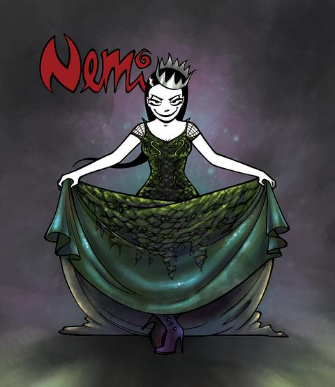 Ny Nemi-bok: Princess of Darkness