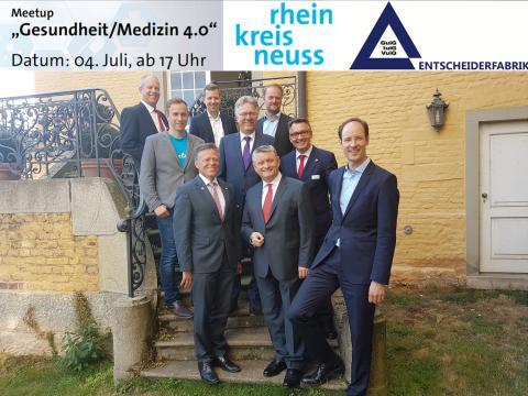 Meetup Gesundheit / Medizin 4.0: Im Rhein-Kreis-Neuss wird der Nutzen stiftenden Beitrag von Digitalisierungsprojekten aufgezeigt !