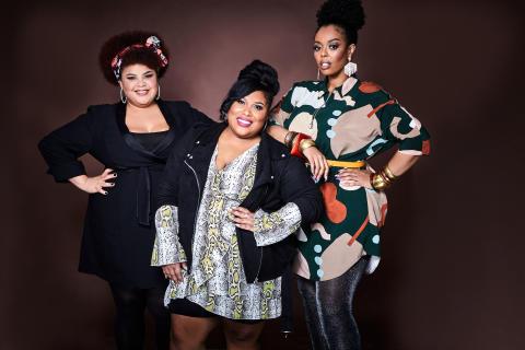 The Mamas uppträder på Victoriakonserten