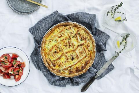 Recept på italiensk paj