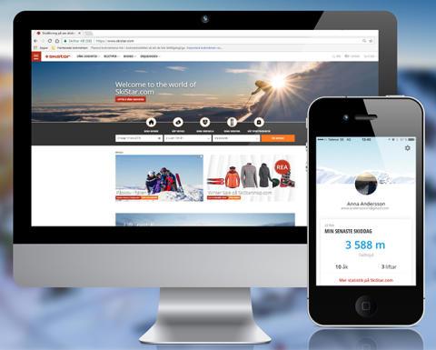 SkiStar lancerer nye digitale platforme