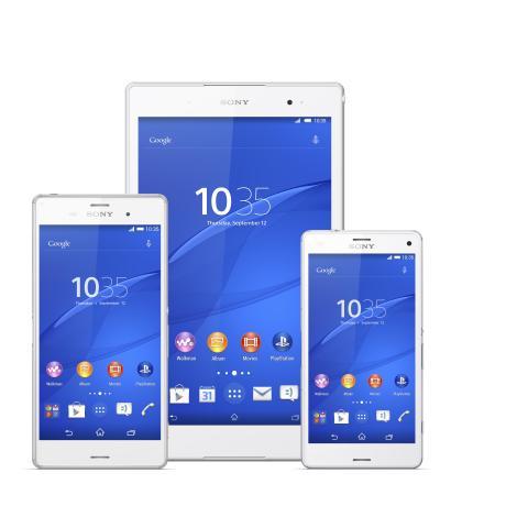 Sony Xperia Z3-Familjen (Xperia Z3, Xperia Z3 Tablet Compact och Xperia Z3 Compact)