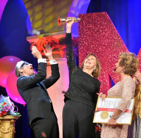 Vinnare av Årets Mappie 2015 - Lill Lindfors