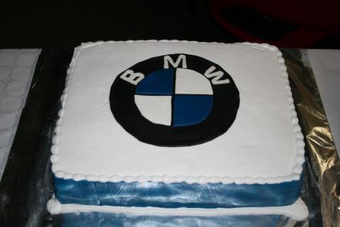 BMW kage lavet af en elev fra EUC