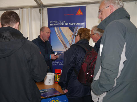 High res image - Sika - Practical Boat Owner's 'Ask the Experts Live' 2016