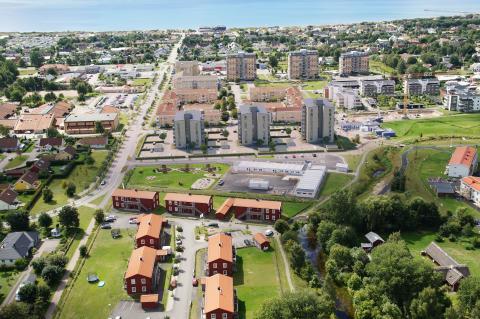 Riksbyggen administrerar Gekås hyresrätter i Falkenberg