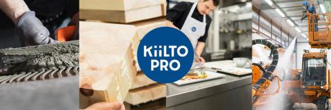 Kiilto Pro – entistä parempaa palvelua ammattilaisille