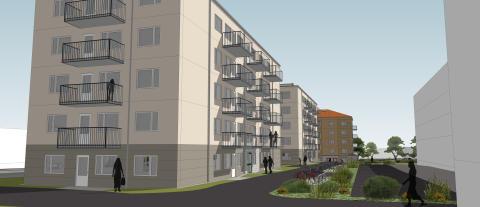 Pressinbjudan: Stena Fastigheter byggstartar studentlägenheter i Bredäng