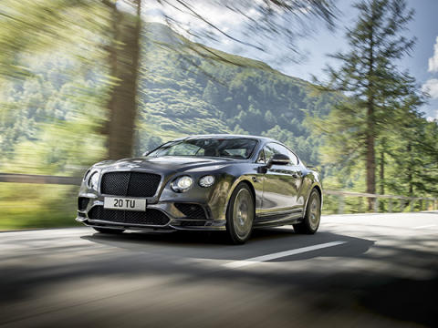 Bentley Supersports 2017