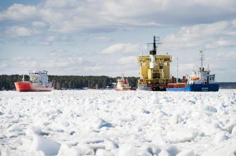 Isreducering hjälper Luleå hamn - välkommen på pressträff i Luleå tisdag 28 maj