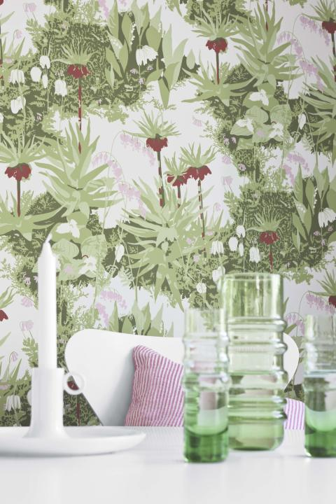 Wallpapers by Scandinavian designers