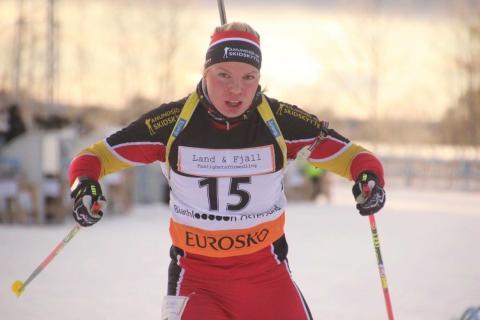 Skidskytten Frida Hagström från Bredbyn till Vinteruniversiaden i Kazakstan – studentidrottens motsvarighet till ett olympiskt spel
