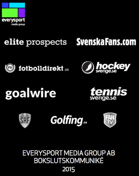 ​EVERYSPORT MEDIA GROUP AB BOKSLUTSKOMMUNIKÉ