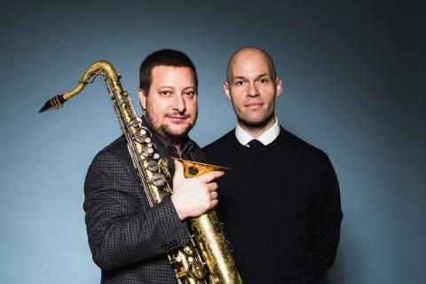 Jazzkoncert på Malerisamlingen med Snorre Kirk og Stephen Riley