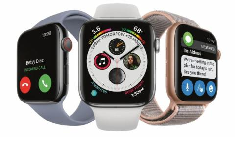 ​Apple Watch Series 4 med mobiluppkoppling nu hos Telenor
