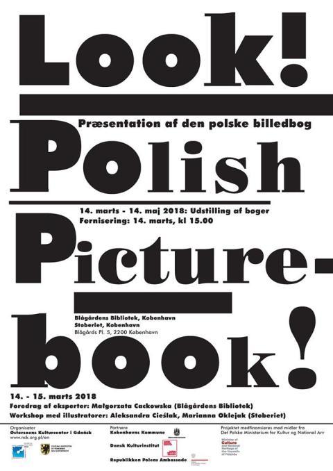Look! Polish Picturebook! plakat