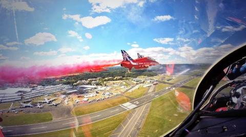 Panasonic to zoom in on the action at the Farnborough International Airshow
