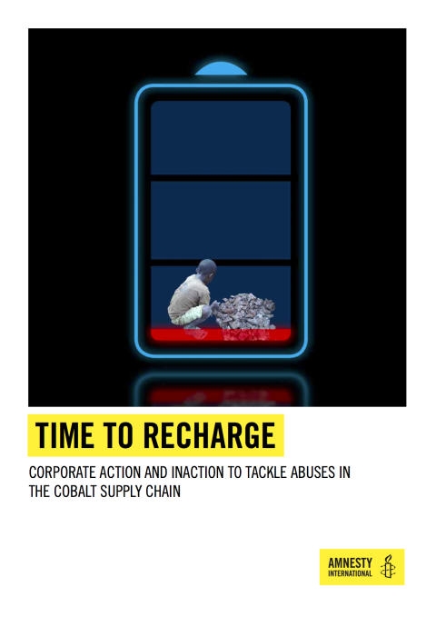 Omslag Amnesty Time to Rechange
