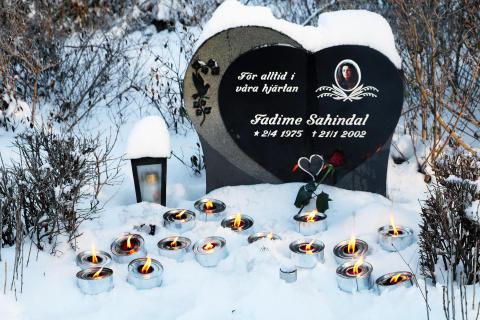 Pressinbjudan - Ceremoni med kransnedläggning för Fadime Sahindal onsdag 21 januari