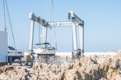 Hi-res image - Karpaz Gate Marina - Karpaz Gate Marina in North Cyprus has retained its 5 Gold Anchor status from TYHA