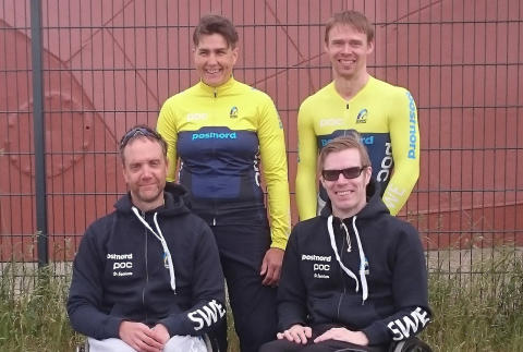 Fyra cyklister till Paralympics i Rio 2016