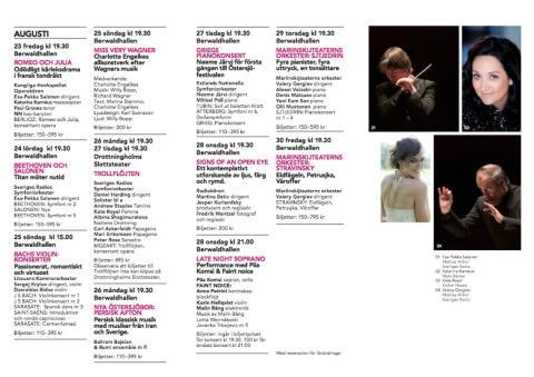 Östersjöfestivalen 2013 - programbladet