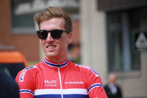 Kristoffer Skjerping under Tour of Norway 2016