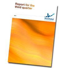AkzoNobel gibt Ergebnisse für Q3 2012 bekannt