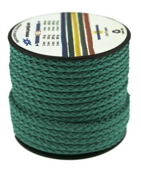 Poly-Light-8 grön, 4 mm x 12 m, spole