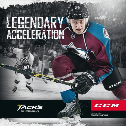CCM Tacks Legendary acceleration