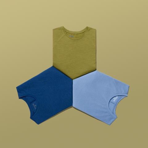 Die neue Scheck-Kollektion umfasst Steppjacken, -Parkas und -Westen, sowie Fleece-Jacken und T-Shirts aus Merinowolle.