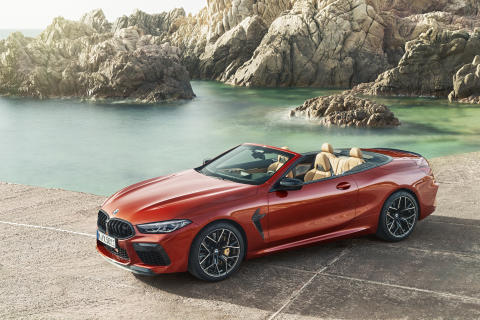 Nye BMW M8 Competition Cabriolet
