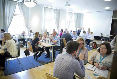 2028 säljmöten under Visit Arctic Europe sales workshop