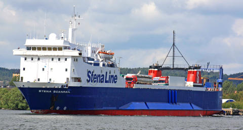 Stena Scanrails sista resa