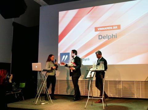   Delphi återigen utsedd till Årets Advokatbyrå