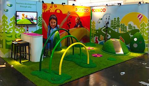 Rodeco lanserar lekmiljöer på världens största detaljhandelsmässa, EuroShop.