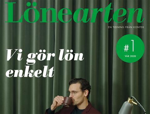 Vårens nummer av tidningen Lönearten!