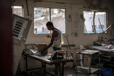 Jemen: Sjukhus hotas av strider i Hodeidah