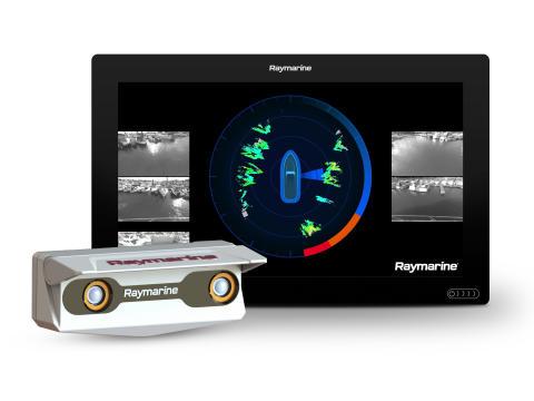 Hi-res image - FLIR - Raymarine DockSense™assisted docking system