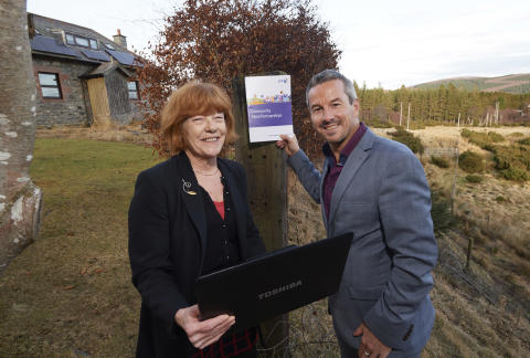 Breath of fresh air for Inverness-shire community as wind farm helps fund fibre broadband