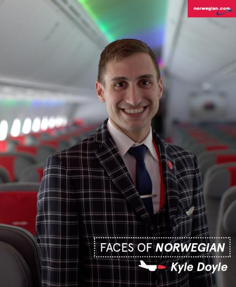 Faces of Norwegian: Kyle Doyle