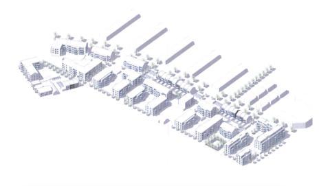 Kvarteret Urmakaren, Ystad, skissbild